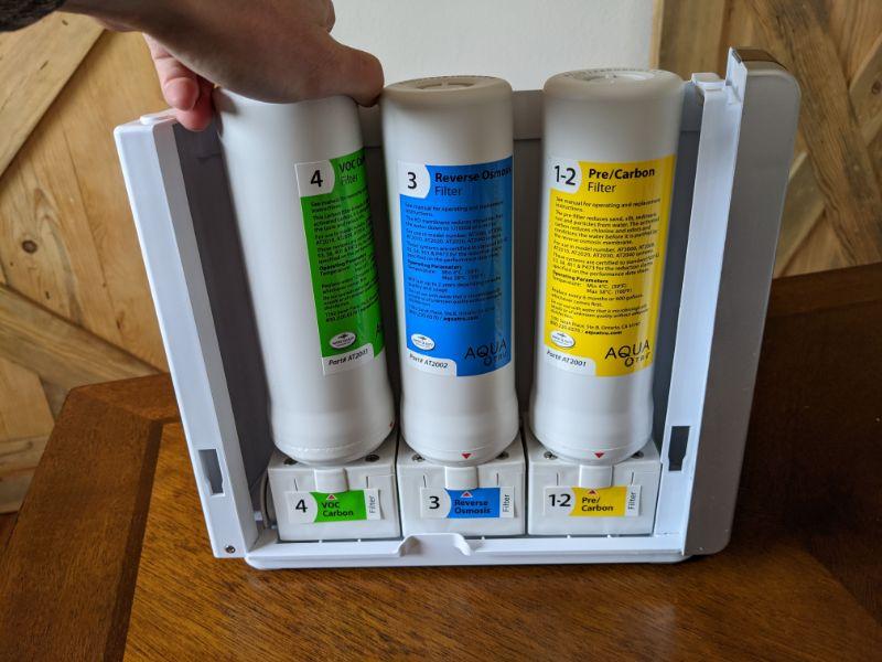 aquatru filters 4 stages