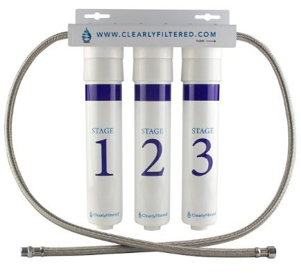 Clearly Filtered Under Sink Filtration System review