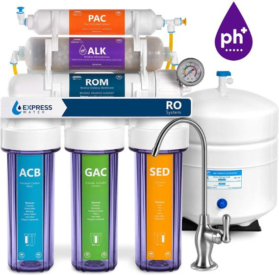 Express Water Alkaline Reverse Osmosis Filtration System