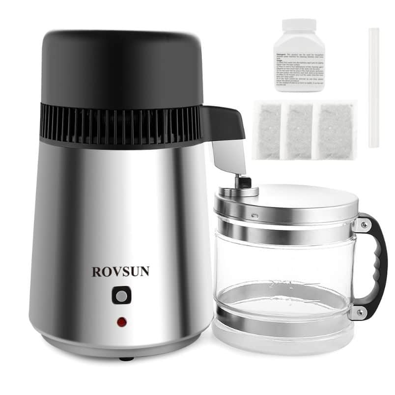ROVSUN Countertop Water Distiller review