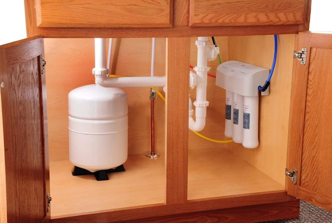 Whirlpool WHER25 Reverse Osmosis (RO) Filtration System installation