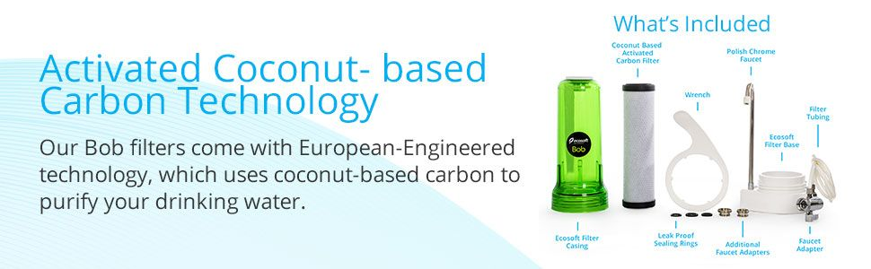 Ecosoft Countertop Water Filter System features