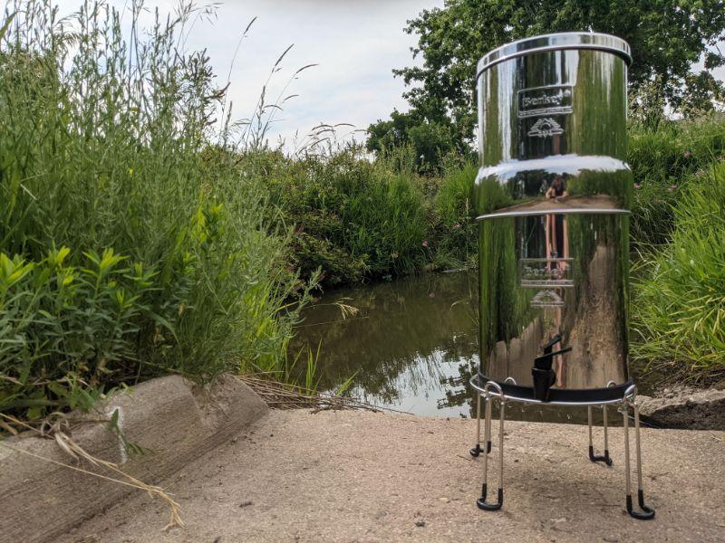 using berkey water filter with stream water