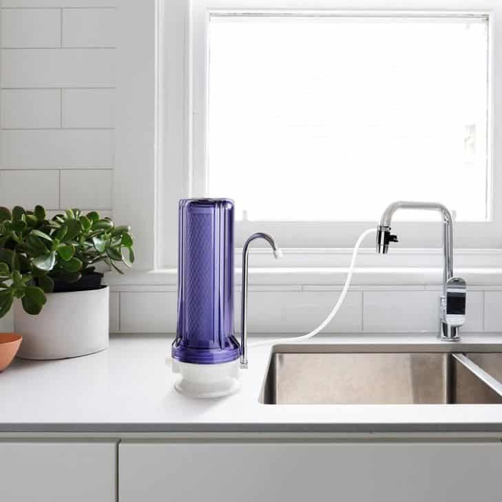 iSpring CKC1C Countertop Water Filter features