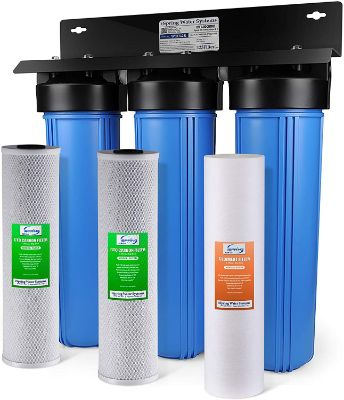 iSpring  3-Stage Whole House Water Filtration System