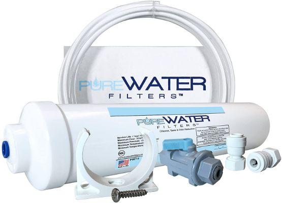 PureWater Inline Water Filter Kit