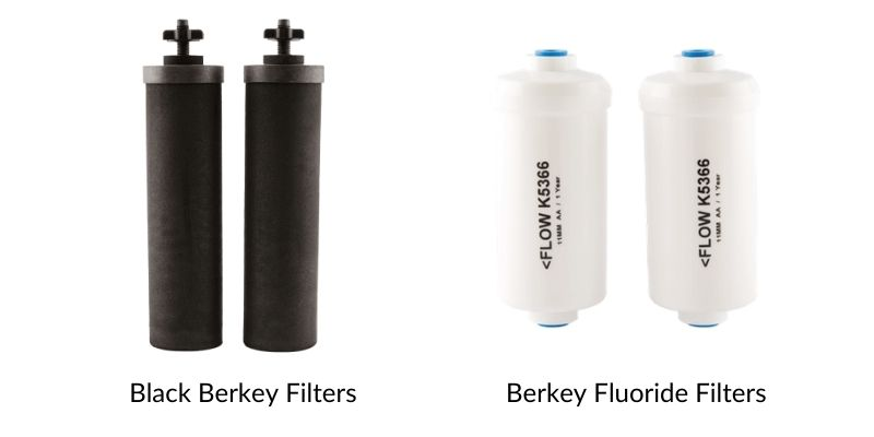 berkey replacement filters