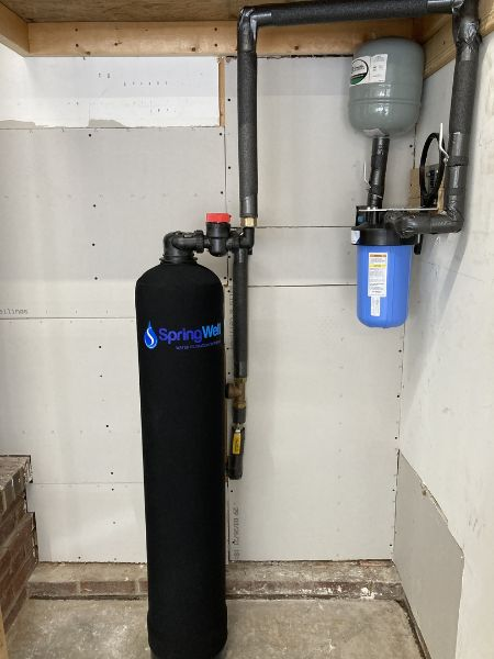 springwell whole house water filtration system