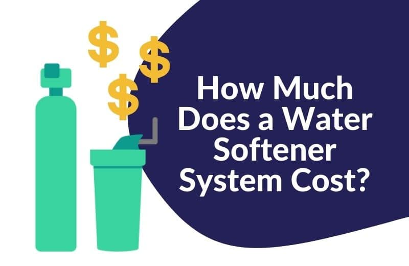 water softener system cost