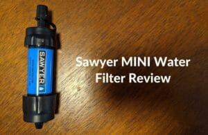 Sawyer MINI Water Filter Review