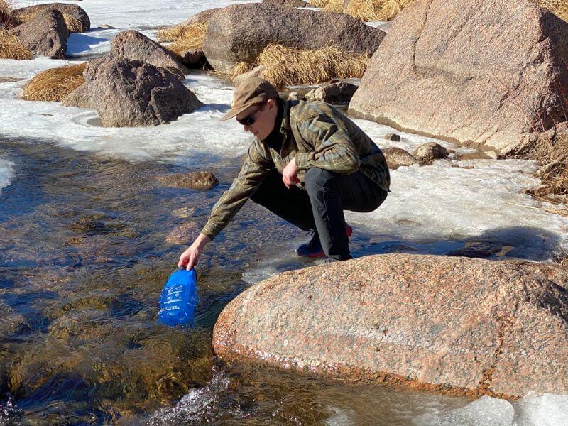 Waterdrop gravity water filter bag