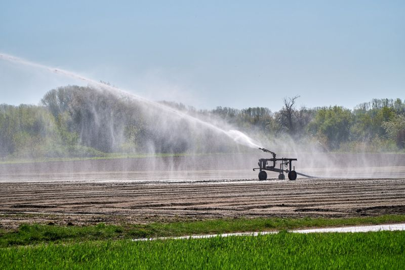 agricultural runoff source of high tds in water