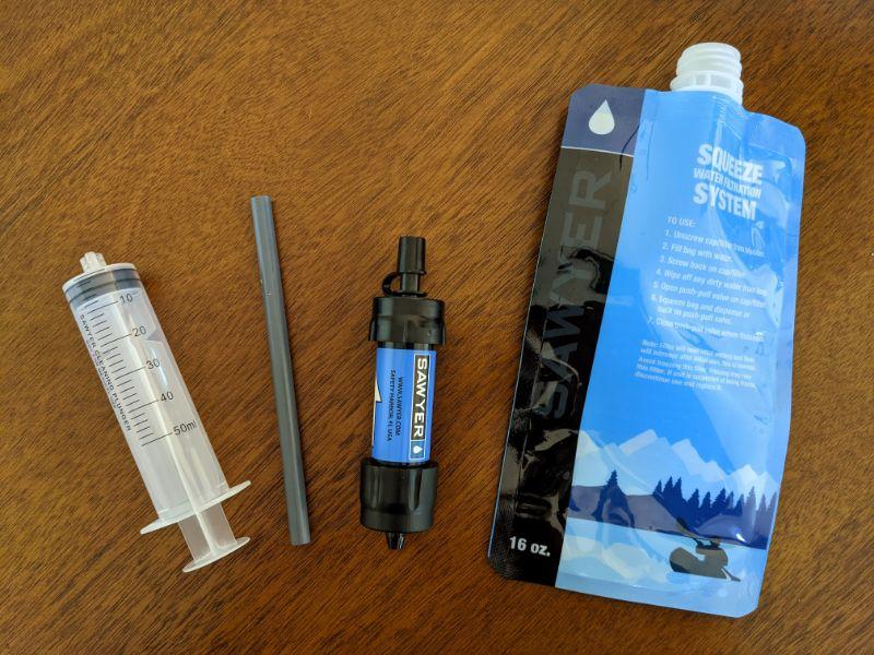 sawyer mini filter accessories