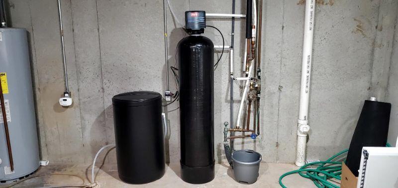 springwell salt-based water softener system