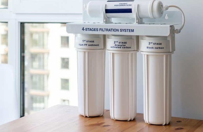 4 stage carbon water filter
