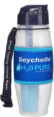 Seychelle pH2O Alkaline Water Filter Bottle