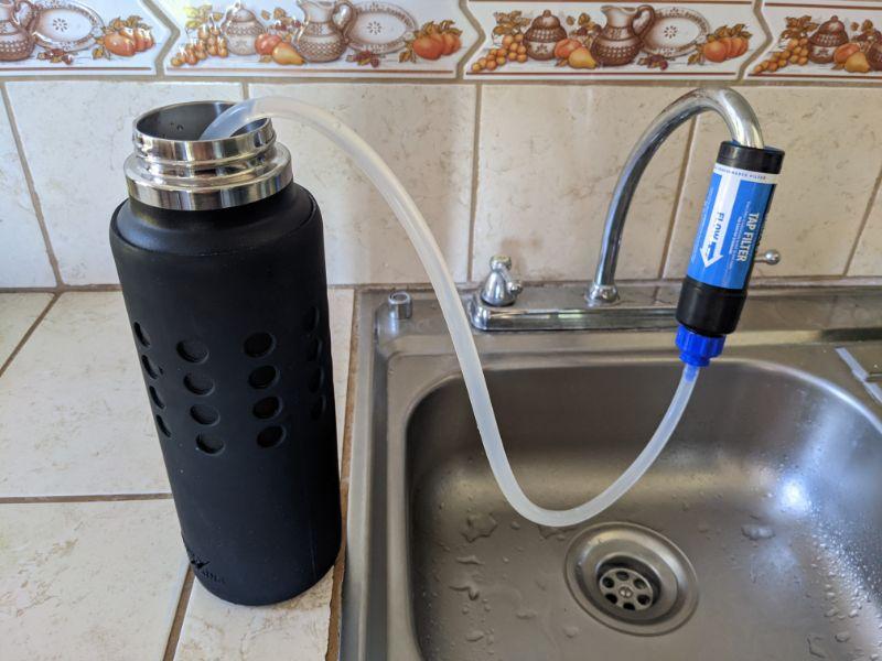 sawyer tap filtration system extension hose