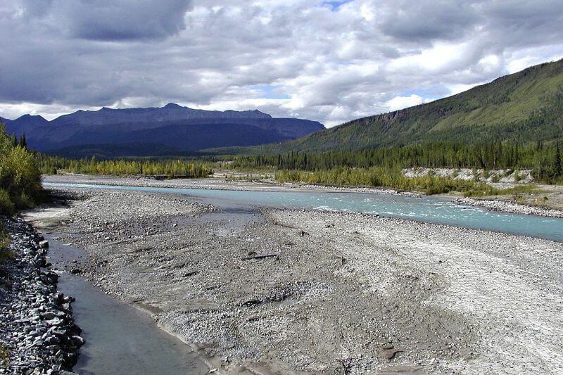 sediment in water