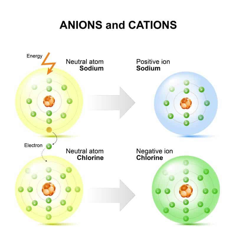 anions and cations explained