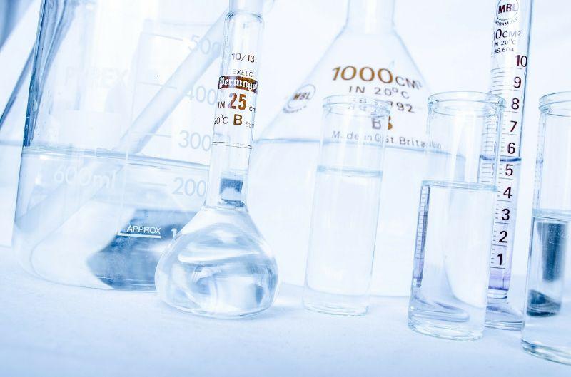 deionized water used in laboratory