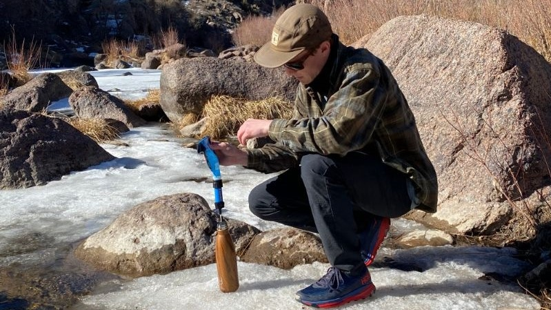 filtering water in the backcountry