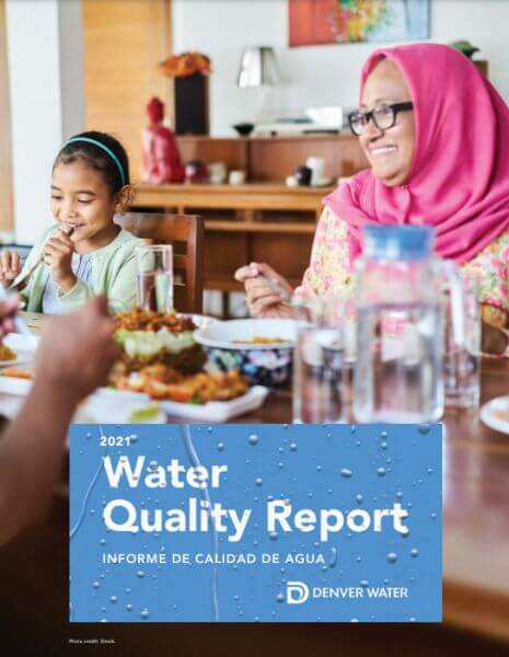 2021 Denver water quality report