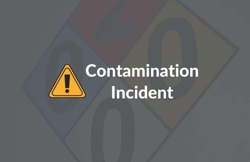 contamination incident