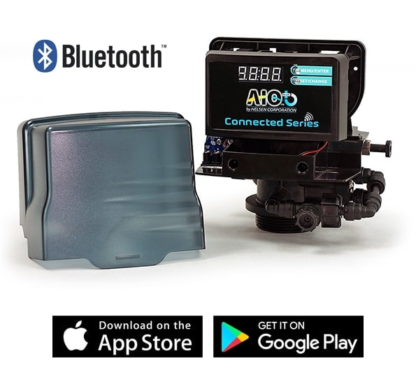 springwell whole house water filter bluetooth controlled head