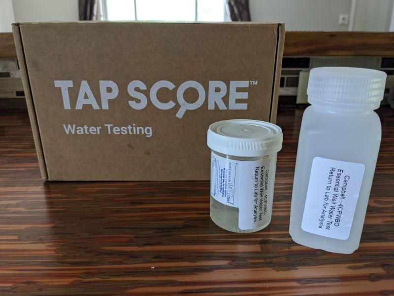 tap score water testing