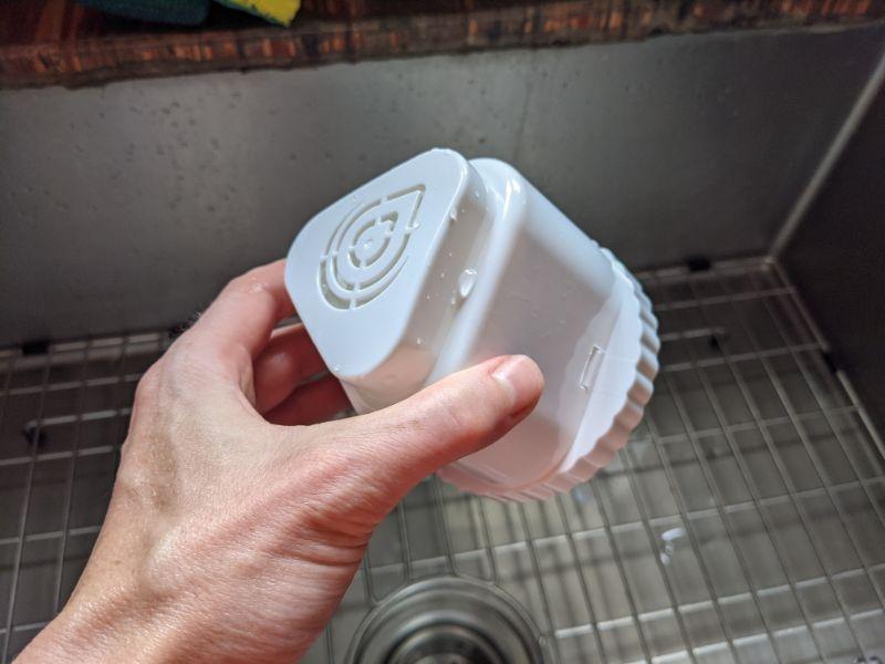 epic pure dispenser solid block carbon filter