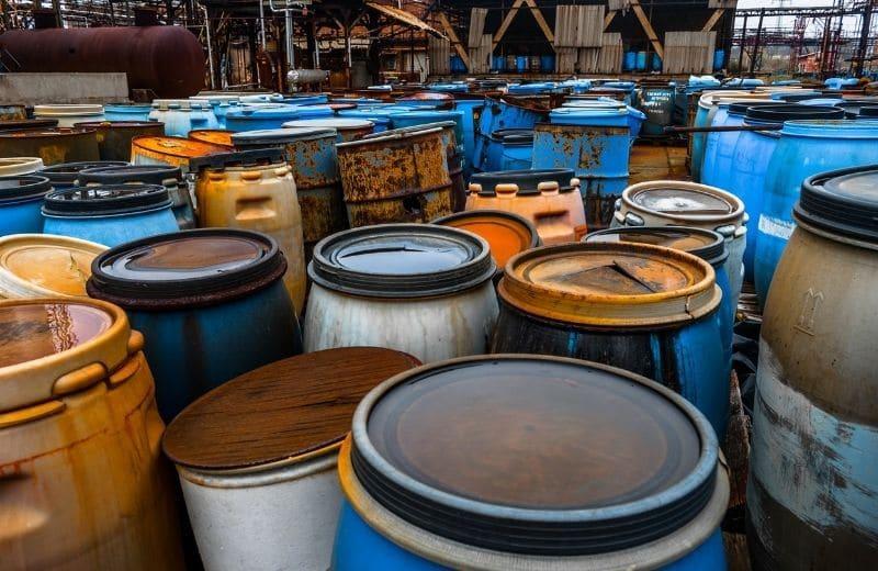 Hexavalent Chromium contamination from industrial waste