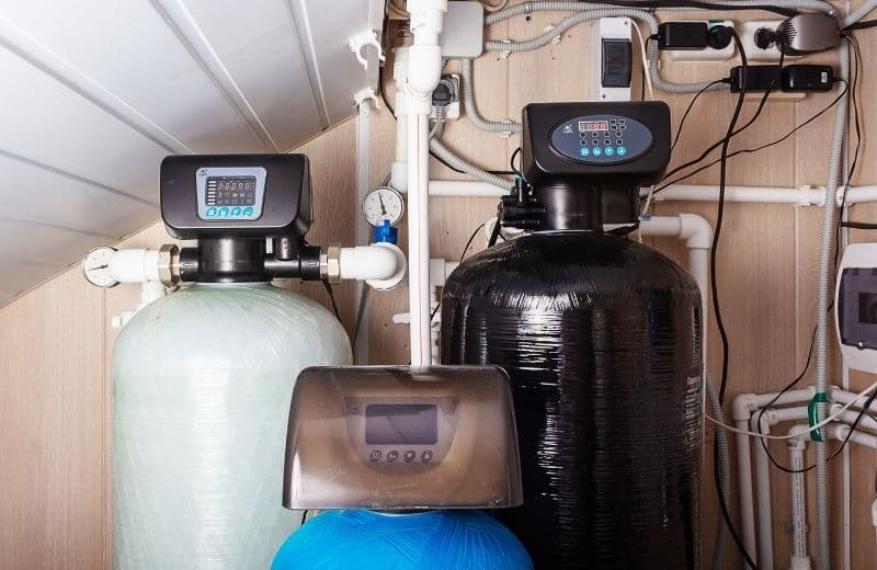 where to install twin tank water softener